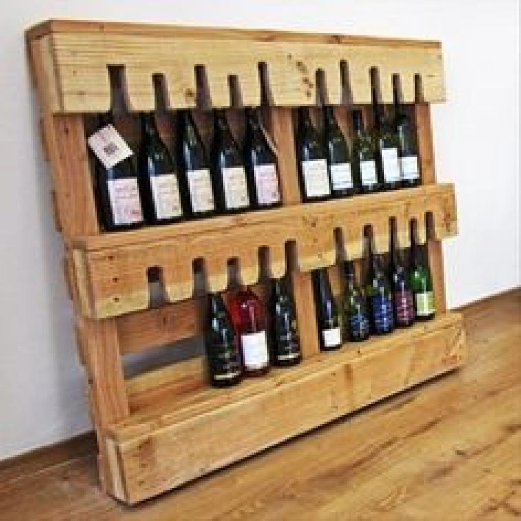Epingle Sur 18idees De Rangement De Bouteilles De Vins