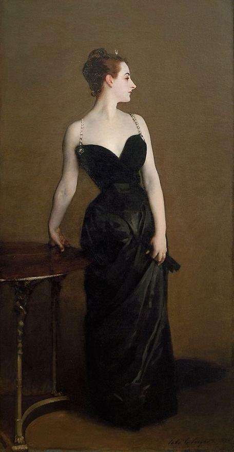 Madame X. . John Singer Sargent