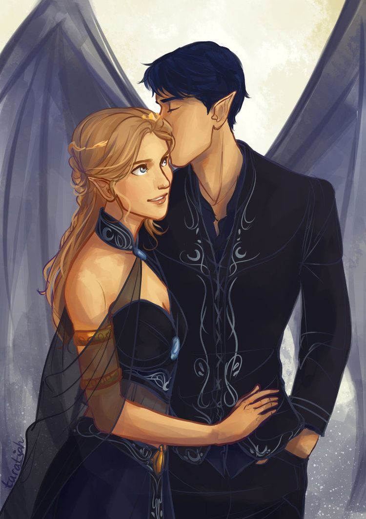 Feyre And Rhys 3 I Love Designing Night Court Outfits Characters