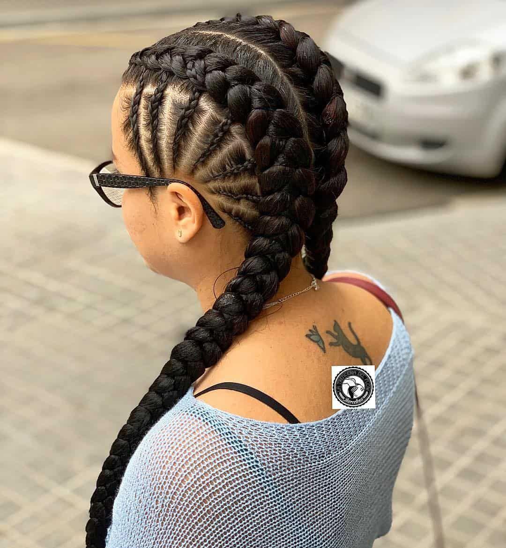 18 Pictures That Proves Braids On White Girls Looks Gorgeous Too Thrivenaija White Girl Braids Two Braid Hairstyles Braided Hairstyles