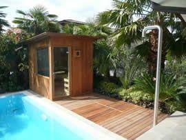 Sauna da esterno by emoplast - Sauna da esterno ...