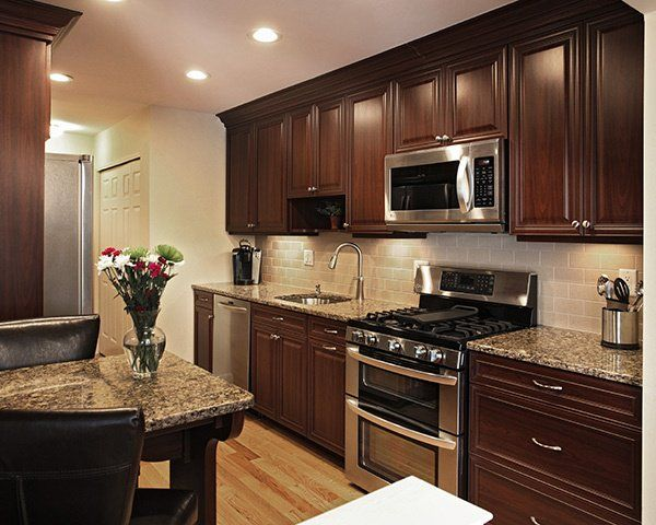 How to Pair Countertop Colors with Dark Cabinets in 2020 ... on Backsplash Ideas For Dark Cabinets And Dark Countertops  id=35135