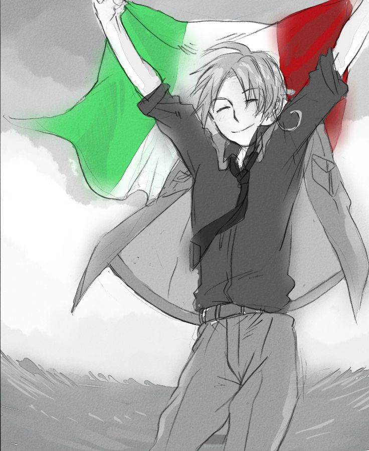 Day 11: Character I'd be best friends with? Italy for sure we both hate to work out and I just love all types of pasta ( I know , I know, how can I have the inside personality like Japan but be like Romano and be friends with Italy idk just go with it