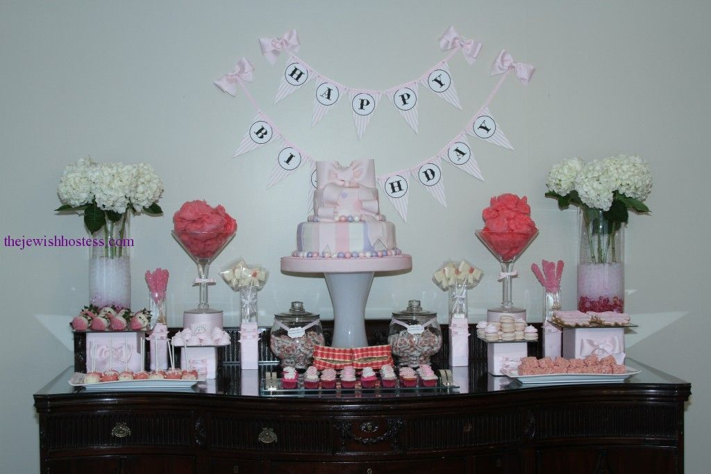 first birthday party image 1st birthday Pinterest Table