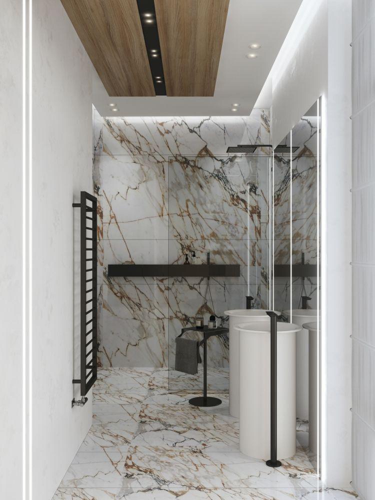 Moderne Einrichtung Badezimmer Armaturen Set Waschetrockner Schwarz