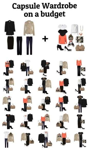 726a238abc4 You can build a Capsule Wardrobe on a budget!
