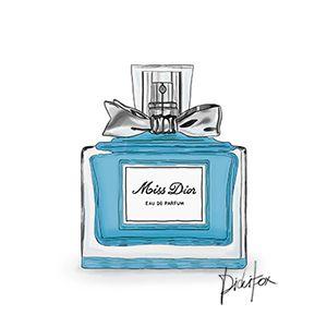 Steelblue Miss Dior Perfume 4 Perfume Art Perfume Bottle Art Perfume Bottles