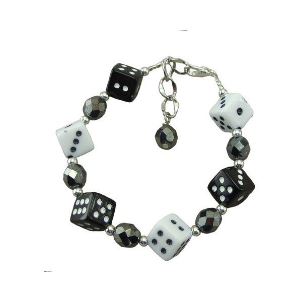 Dice, Adjustable Bracelets ❤ liked on Polyvore featuring jewelry, bracelets, plastic bangles, multicolor jewelry, multi colored jewelry, colorful jewelry and colorful bangles