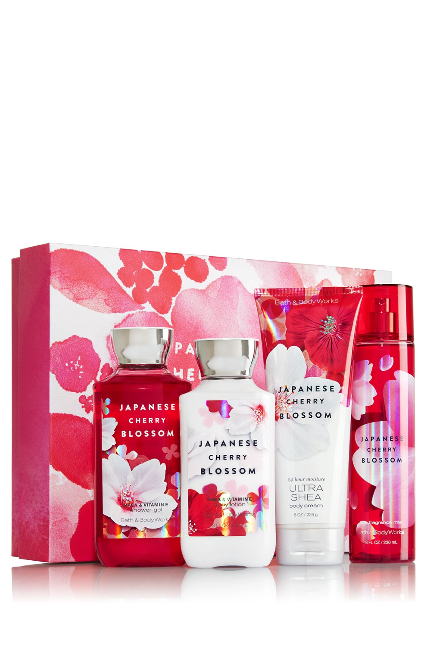 fdc1cfde9d15 Bath & Body Works Just 4 You Gift Set Japanese Cherry Blossom | Bath ...