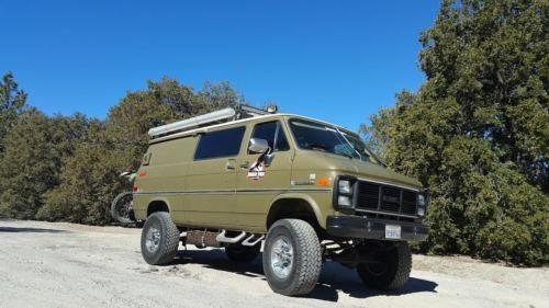 1985 Gmc Vandura Chevy Van Heavy Duty 6 Inch Body Lift Head Turner Chevy Van Vans Chevy