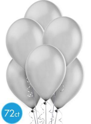 silver balloons $10