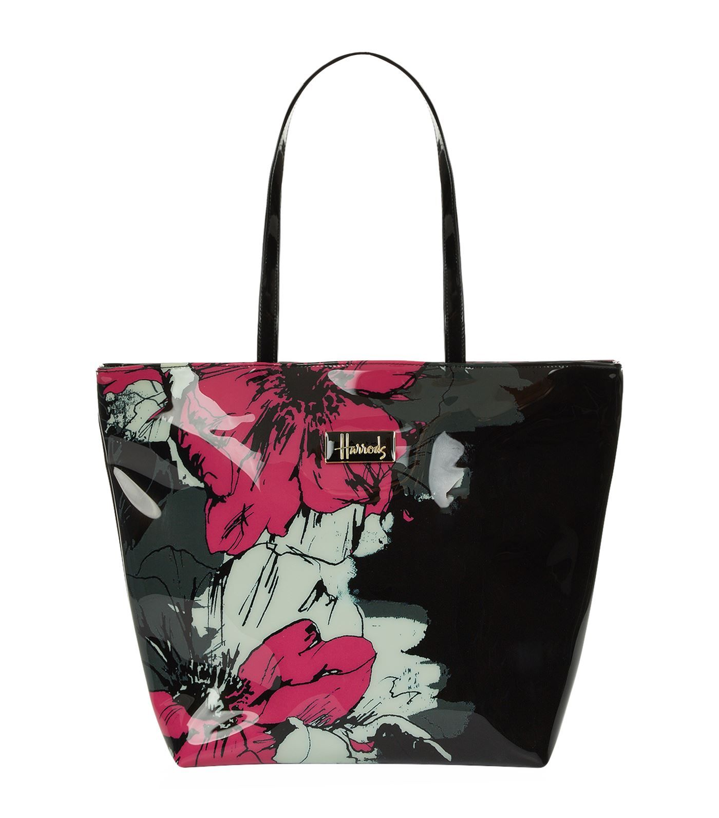 check-out 68616 28aed Harrods Abstract Floral Shoulder Tote Bag | Harrods.com ...