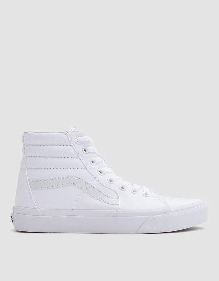 Vans   Sk8 Hi in True White in 2019  8e527c9b0