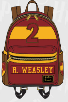 Loungefly Harry Potter Ron Weasley Mini Backpack Harry Potter Ron Weasley Backpacks Loungefly