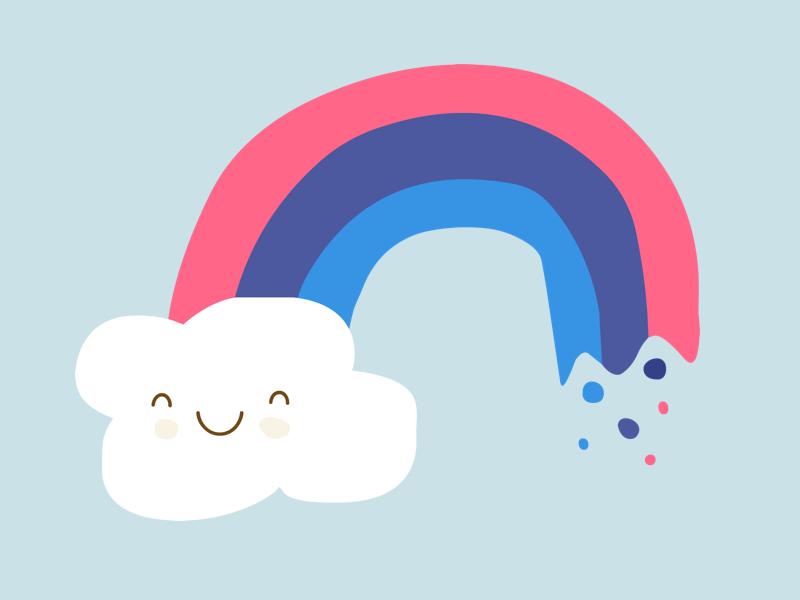 Rainbow by Sean Fournier #Design Popular #Dribbble #shots
