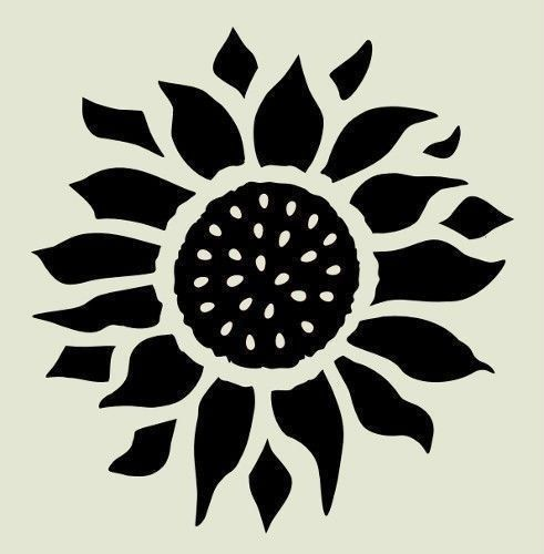 Cozy Pumpkin Carving Ideas10 Sunflower Stencil Flower Stencil