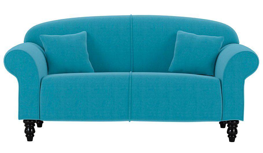 George Home Elliott Compact Sofa In Woollen Blend Nickel