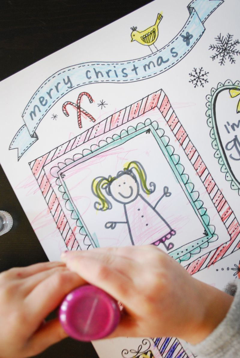 printable christmas coloring page // sweet muffin suite. | Christmas ...