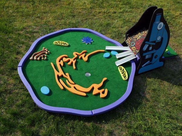 Human Cell Mini Golf Mini Golf Golf Set Miniature Golf Course