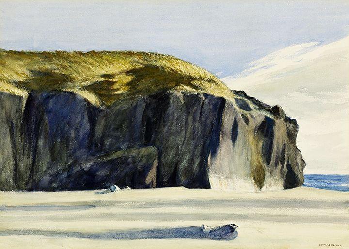 Edward Hopper - Oregon coast