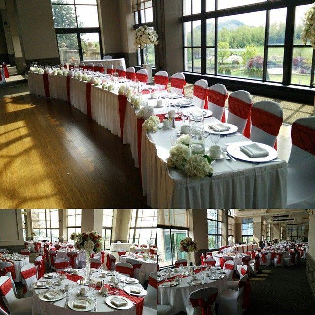 fabulous Swaneset Wedding #katsuradesigns #gorgeous #decor #redandwhite white #vancouver #decor #rental #florals #pittmeadows #swaneset #swanesetwedding #weddingsinvancouver  #vancouverwedding #vancouverweddingdecor #vancouverweddingvenue #vancouverwedding #vancouverweddingdosanddonts #vancouverweddingvenue