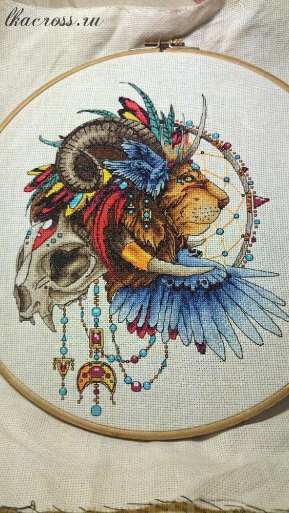 Ловец снов сова схема