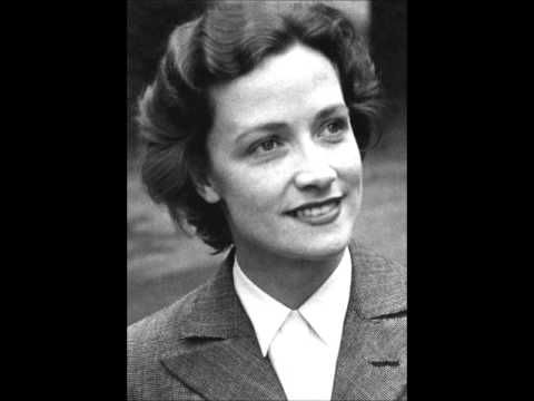 Kathleen Ferrier singing a medley while playing the piano. - Thank you, rayangreene and YouTube!