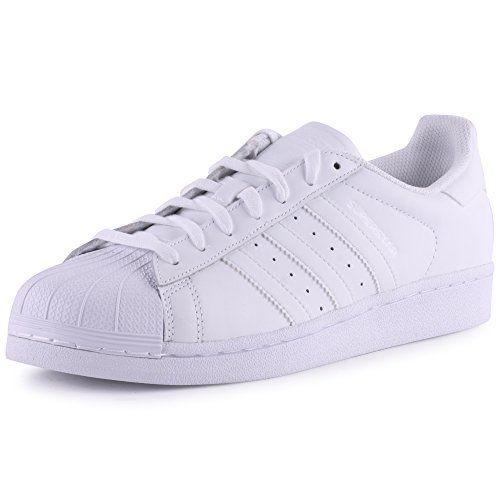 Adidas Superstar Foundatio, Scarpe sportive, Uomo, Bianco (Ftwwht/Ftwwht/Ftwwht), 45 1/3 adidas http://www.amazon.it/dp/B00PNUHMAI/ref=cm_sw_r_pi_dp_RS.bvb0RJJV02
