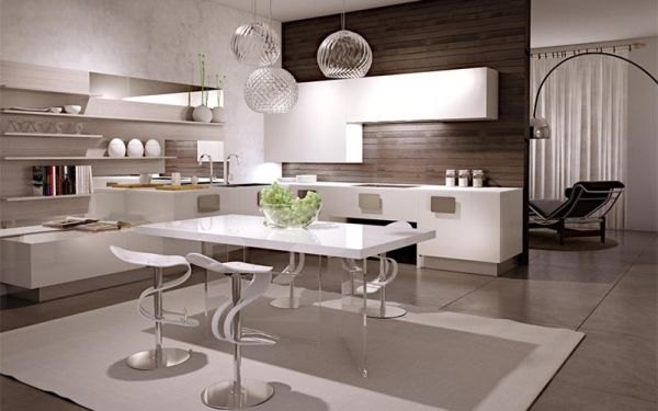 Emejing Cucine A Vista Contemporary - Modern Design Ideas ...