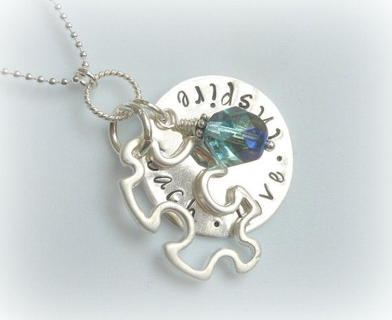 Teach Love Inspire  Special Needs Teacher by TheHandStampedHeart, $32.00