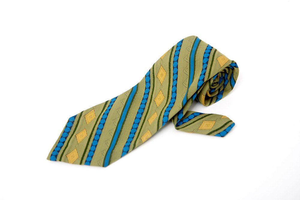 Men's Necktie / Vintage Superba Striped Tie - http://bit.ly/15VXhPH