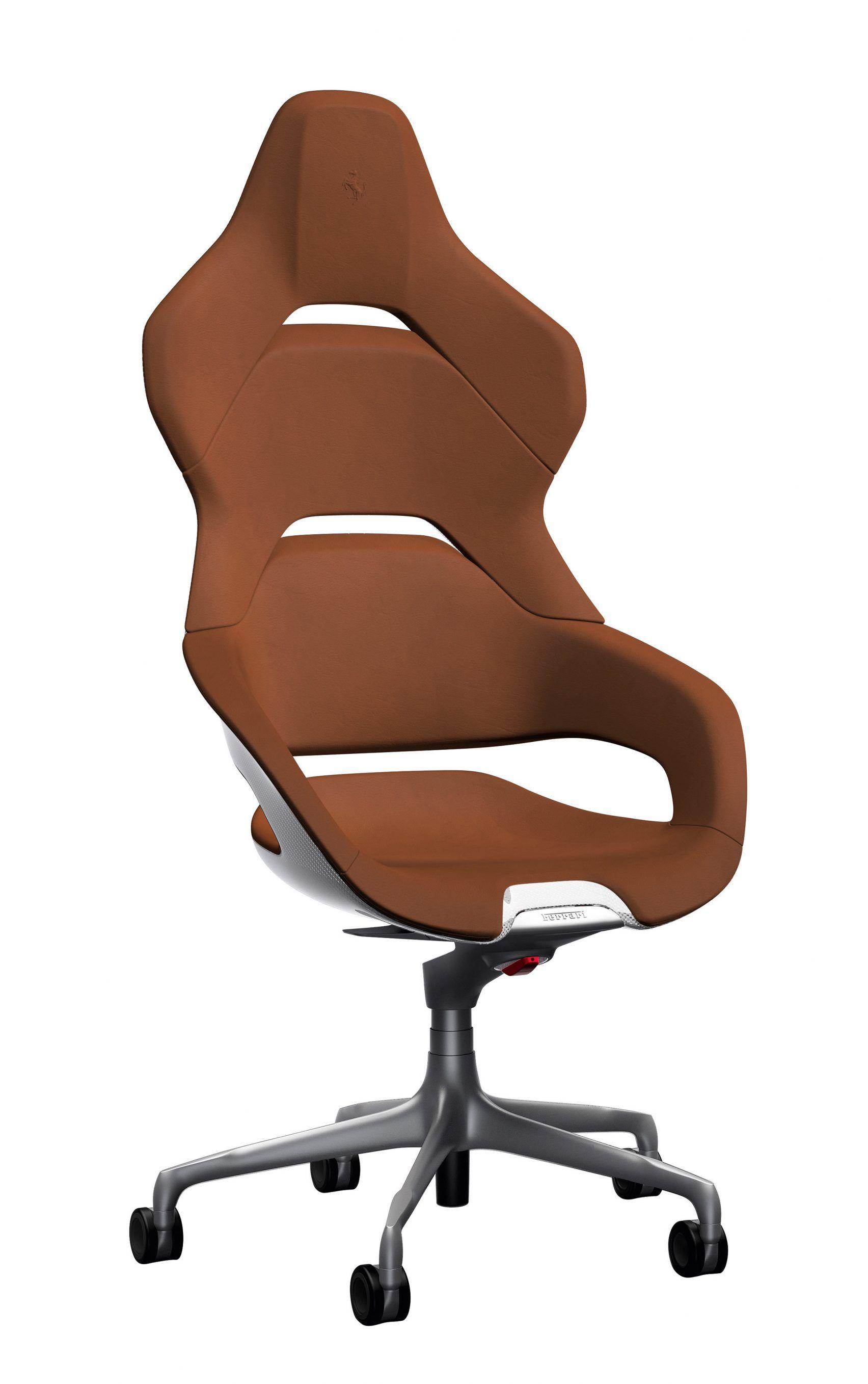 design team creates Cockpit office chair for Poltrona Frau