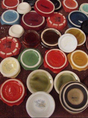 Mosaic Supplies Tiles Broken Plates Tesserae Art Mixed Media Cup Bottoms Maker Marks Set lot