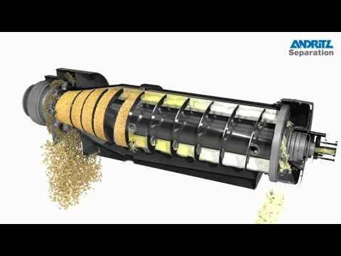 Andritz Separation 3d Animation Of 2 Phase Decanter Centrifuge With Cip Centrifuge Decanter 3d Animation