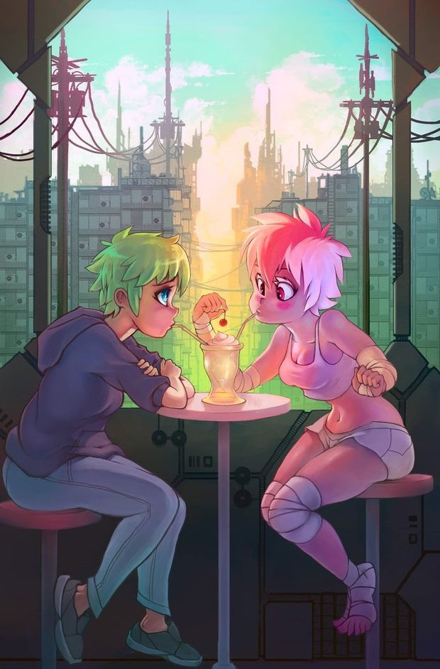 Anime Art by Rtil