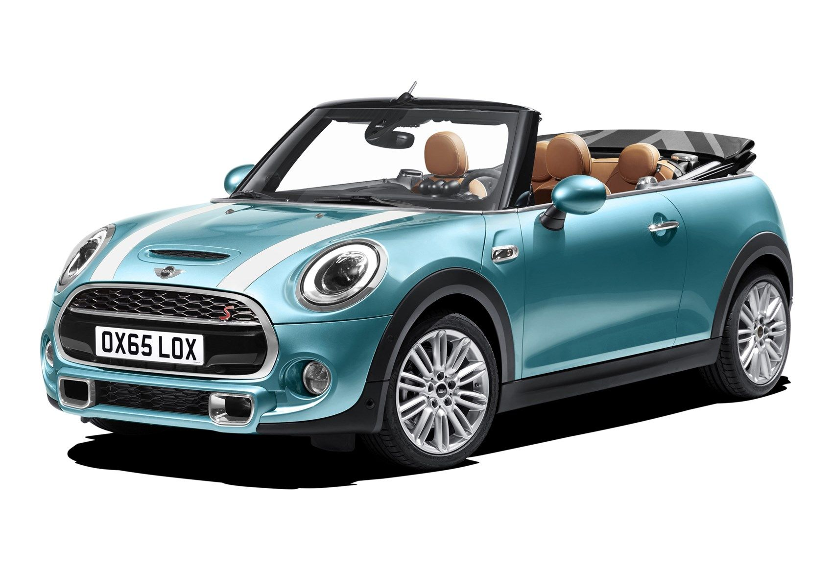 Caribbean Blue Mini With White Mini Convertible Mini Cooper Mini Cooper S