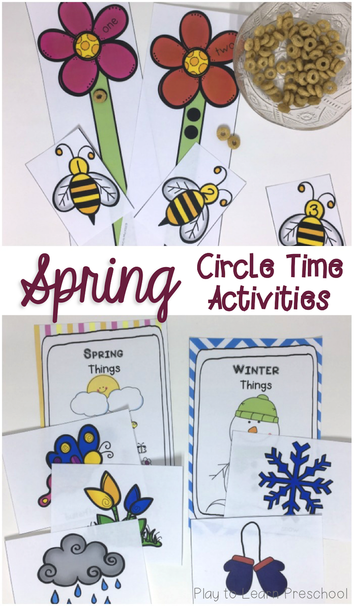 Spring Circle Time Unit | Circle time activities, Circle ...