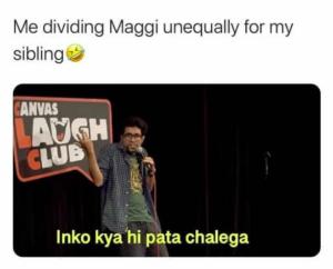 Dividing Maggi Unequally Among Siblings
