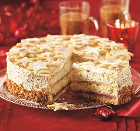 Deutsche Kuchen Rezepte: Marzipan-Nusstorte Rezept