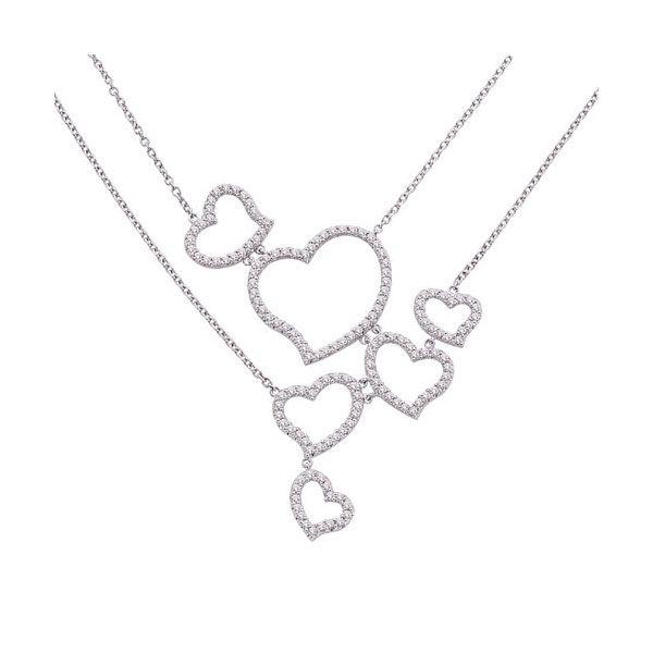 Image of Diamond Heart Necklace