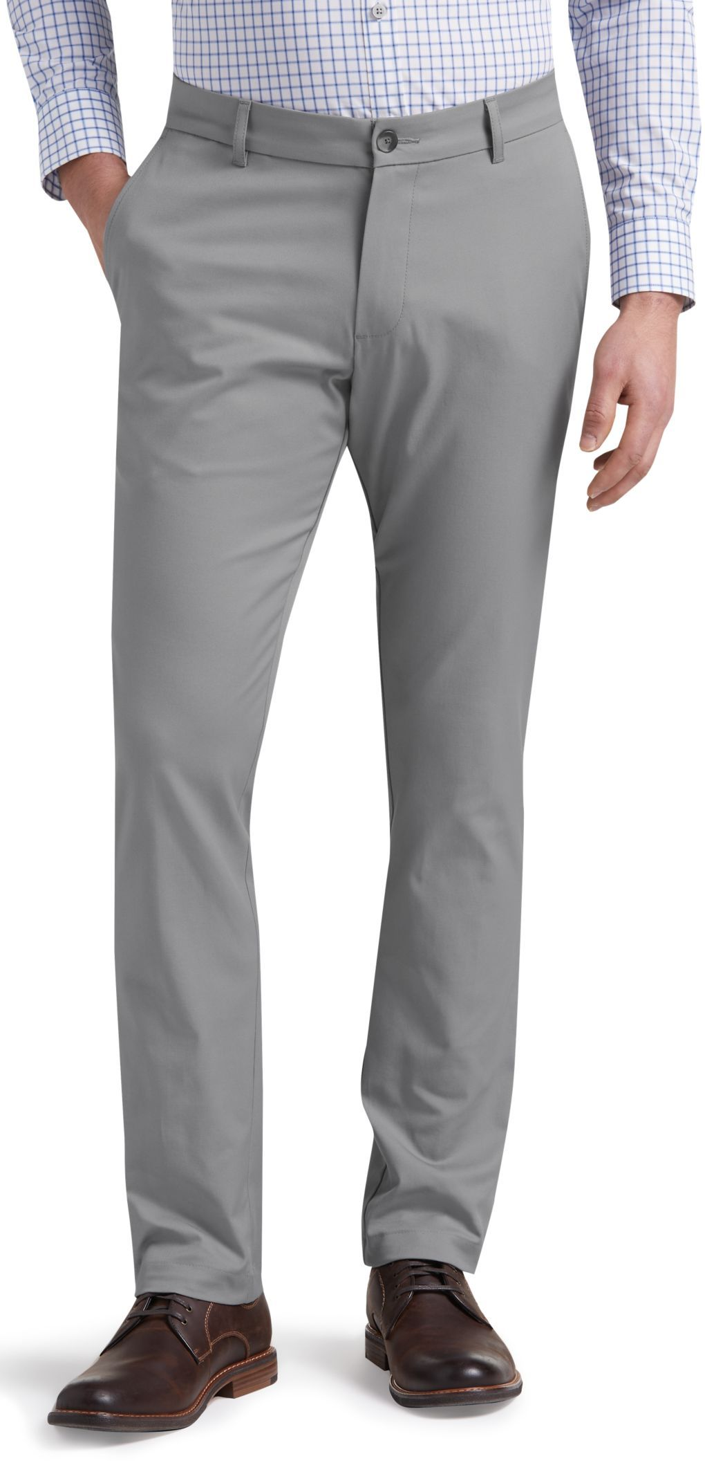 47c200edc51 Travel Tech Slim Fit Flat Front Pants - Big   Tall