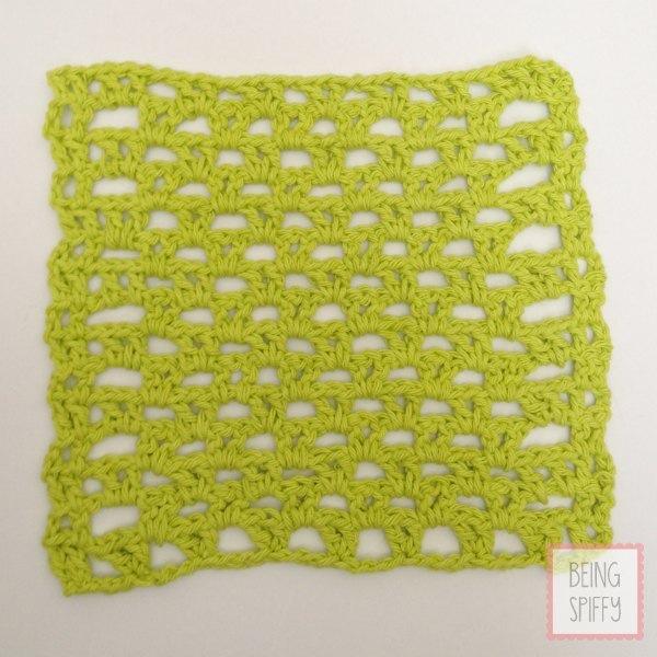 May 4 Vibrant V Stitch Crochet Dishcloth Pattern Crochet Dishcloth