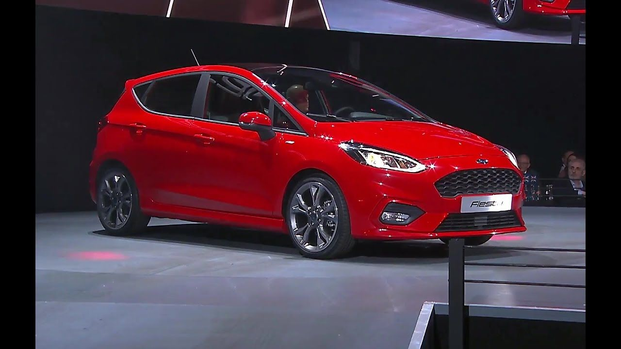 2017 Ford Fiesta Unveiled At An Event In Cologne Germany