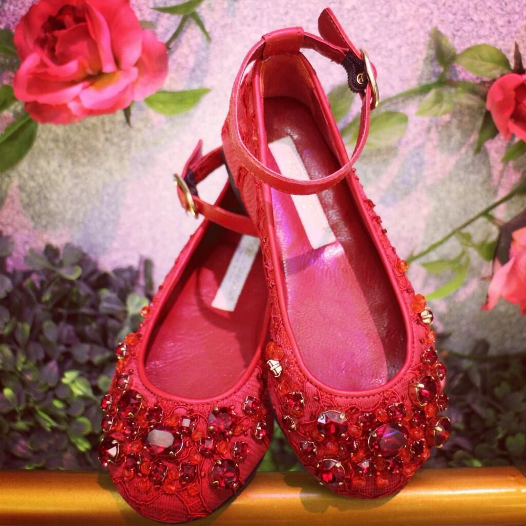 There is only one way to describe these precious pretty pumps ...