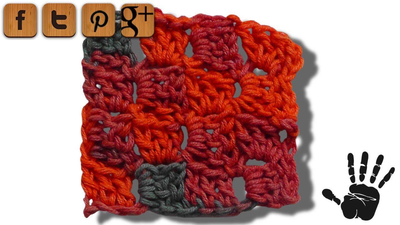 C2C Häkelmuster - © Woolpedia | Crochet Häkeln Tutorials | Pinterest ...