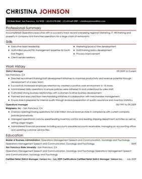 Impactful Professional Retail Resume Examples  Resources