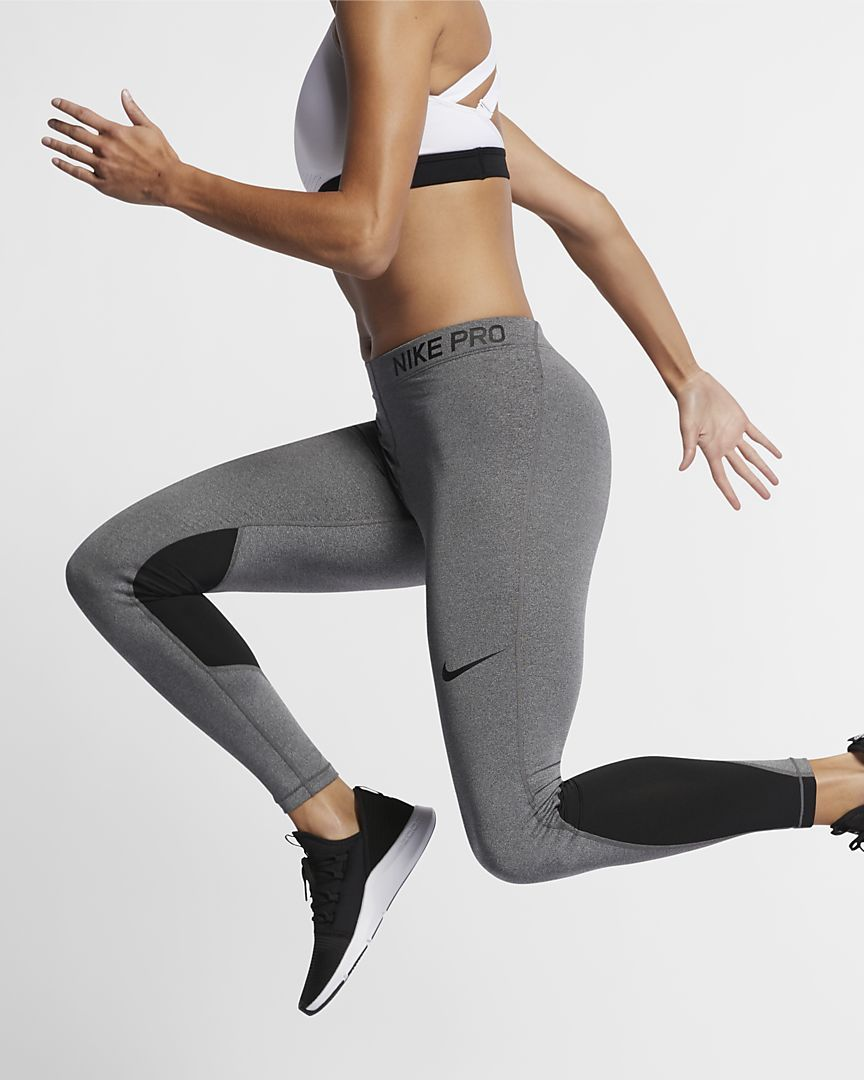 b089c855bbbb30 Pro Women's Mid-Rise Training Tights | okay | Nike pro women ...