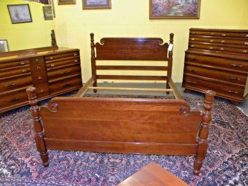 kling furniture mid century modern solid cherry bedroom