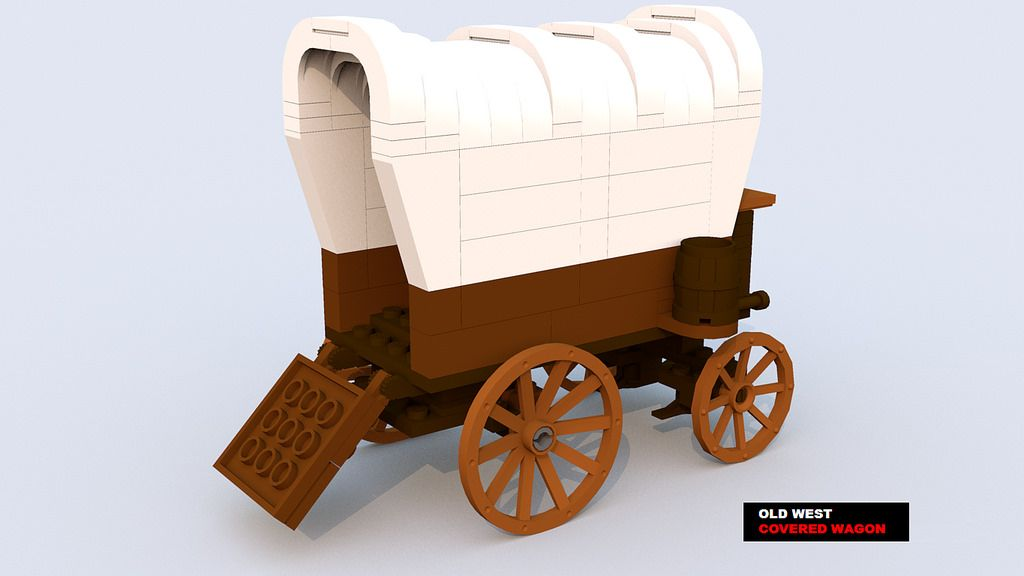 Image result for lego covered wagon""