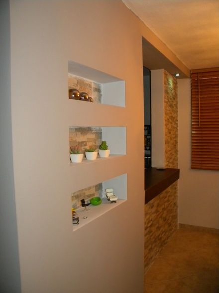 gypsum board facias tv units nichos decorativos paredes divisorias ...